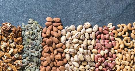 intake of nuts