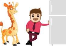 refrigerator-giraffe