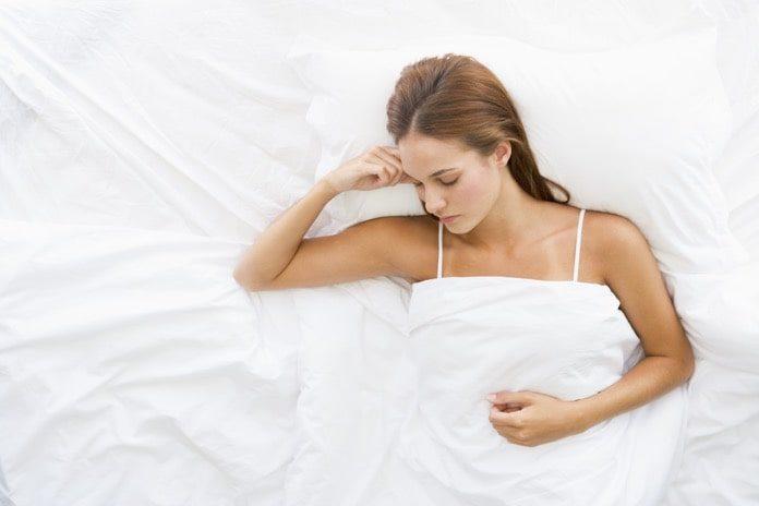 snoring women