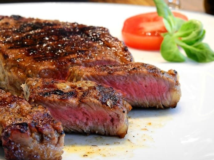 eating red meat