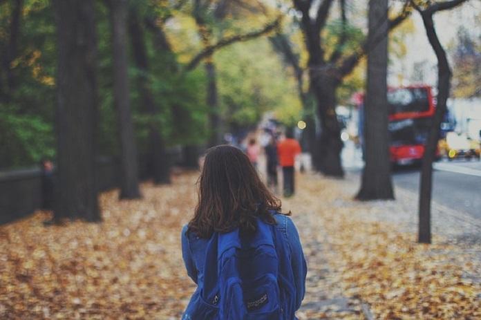 child walking